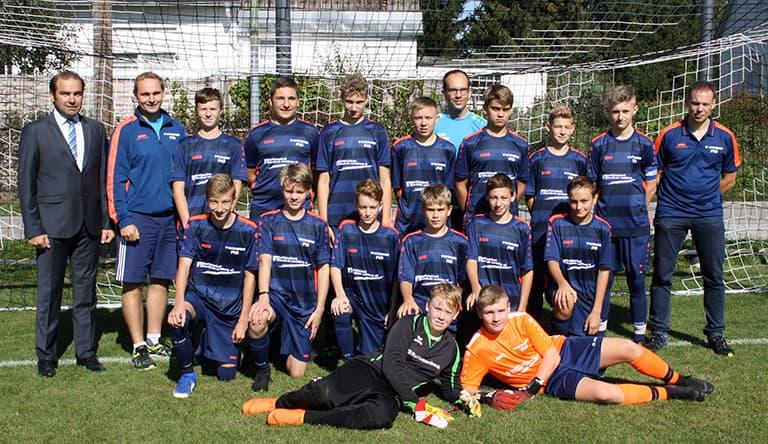 Mannschaftsfoto C-Jugend Saison 2020/21