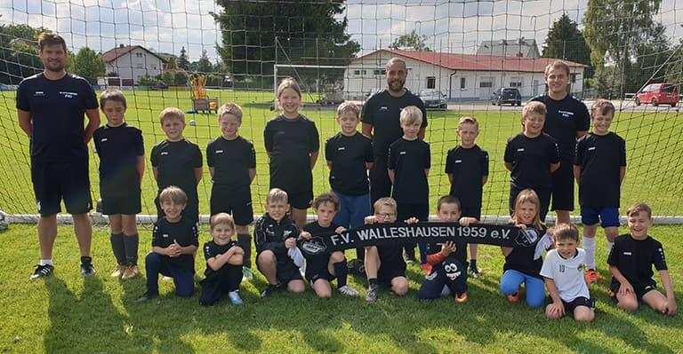 Mannschaftsfoto F-Jugend Saison 2020/21