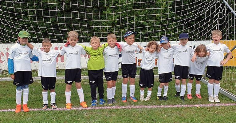 Mannschaftsfoto G-Jugend Saison 2020/21