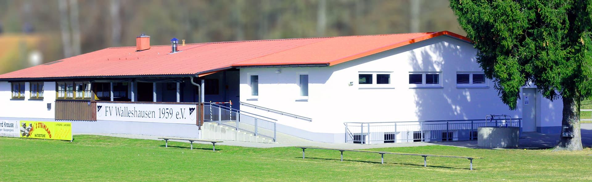 Vereinsheim FV Walleshausen