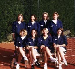 Damenmannschaft 1998