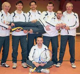 Tennismannschaft Herren 2008