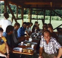 Pavillionbau 1981