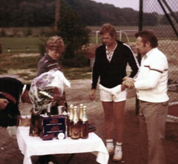 Siegerehrung 1982