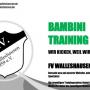 Bambini Fussball Training